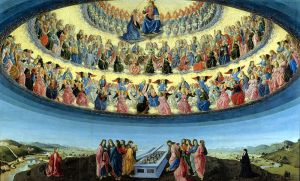 De hemel volgens Francesco Botticini